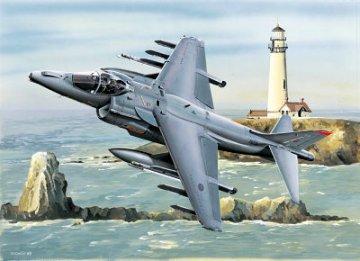 RAF Harrier GR.MK7 · TRU 02287 ·  Trumpeter · 1:32