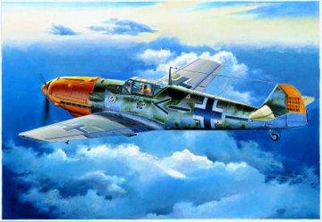 Messerschmitt Bf 109 E-4 · TRU 02289 ·  Trumpeter · 1:32