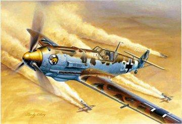 Messerschmitt Bf 109 E-4/Trop · TRU 02290 ·  Trumpeter · 1:32