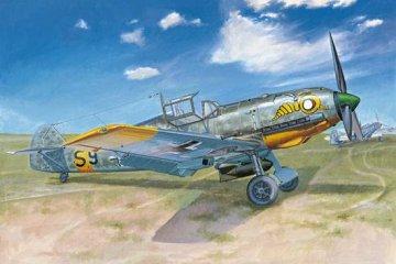 Messerschmitt Bf 109 E-7 · TRU 02291 ·  Trumpeter · 1:32