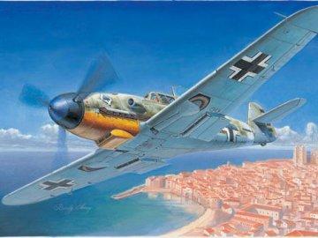 Messerschmitt Bf 109 F-4 · TRU 02292 ·  Trumpeter · 1:32
