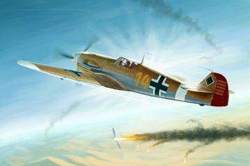 Messerschmitt Bf 109 F-4/Trop · TRU 02293 ·  Trumpeter · 1:32