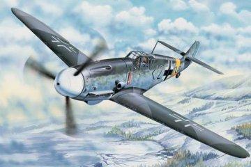Messerschmitt Bf 109 G-2 · TRU 02294 ·  Trumpeter · 1:32