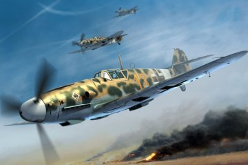 Messerschmitt Bf 109 G-2/Trop · TRU 02295 ·  Trumpeter · 1:32