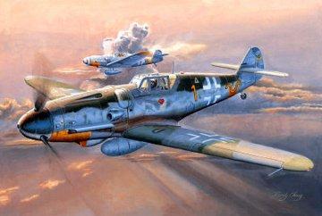 Messerschmitt Bf 109 G-6 (Early) · TRU 02296 ·  Trumpeter · 1:32
