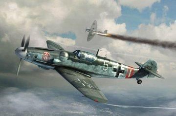 Messerschmitt Bf 109G-6(Late) · TRU 02297 ·  Trumpeter · 1:32
