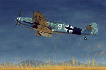 Messerschmitt Bf 109G-10 · TRU 02298 ·  Trumpeter · 1:32