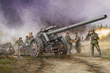 German s.10cm K.18 Cannon · TRU 02305 ·  Trumpeter · 1:35