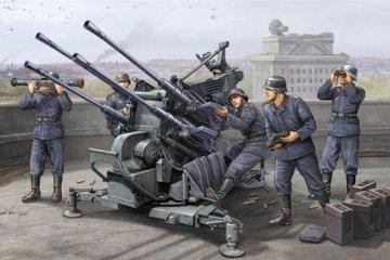 FLAK 38 (German 2.0cm anti-aircraft guns · TRU 02309 ·  Trumpeter · 1:35