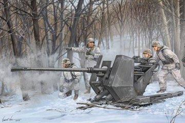 FLAK 37 (German 3.7cm anti-aircraft gun) · TRU 02310 ·  Trumpeter · 1:35