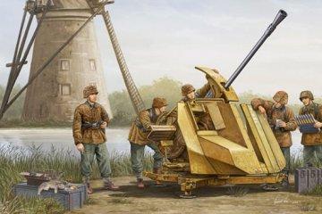 FLAK 43 (German 3.7cm anti-aircraft gun) · TRU 02311 ·  Trumpeter · 1:35
