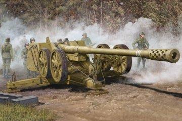 German 128mm Pak44 (Rhien) · TRU 02312 ·  Trumpeter · 1:35