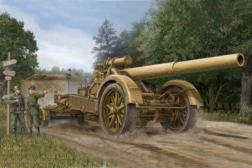 German 21cm Morser 18 Heavy Artillery · TRU 02314 ·  Trumpeter · 1:35