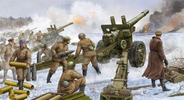 Soviet 152mm Howitzer-gun M1937 (ML-20) · TRU 02315 ·  Trumpeter · 1:35