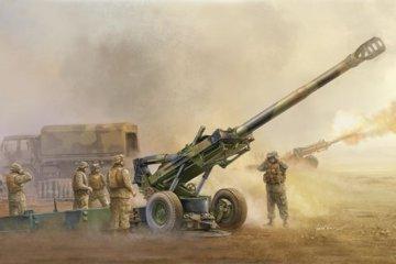M198 Medium Towed Howitzer late · TRU 02319 ·  Trumpeter · 1:35
