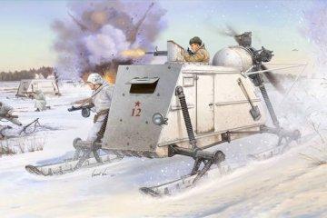 Soviet NKL-26 Armoured Aerosan · TRU 02321 ·  Trumpeter · 1:35