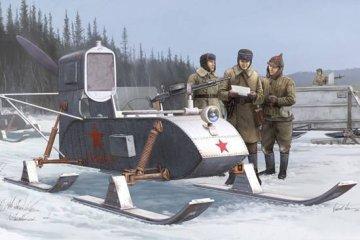 Soviet Aerosan RF-8 · TRU 02322 ·  Trumpeter · 1:35