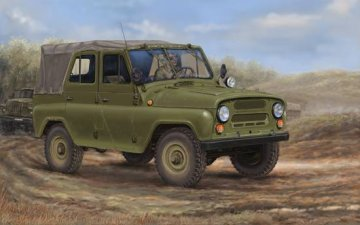 Soviet UAZ-469 All-Terrain Vehicle · TRU 02327 ·  Trumpeter · 1:35