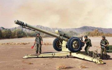 Sov.D30 122 mm Howitzer Early version · TRU 02328 ·  Trumpeter · 1:35