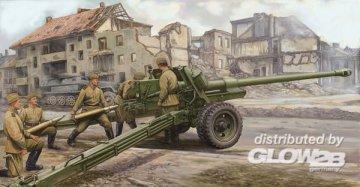 Russian 100mm Anti-tank Gun M19 (BS-3) · TRU 02331 ·  Trumpeter · 1:35