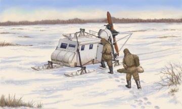 Soviet NKL-16 Armoured Aerosan · TRU 02337 ·  Trumpeter · 1:35