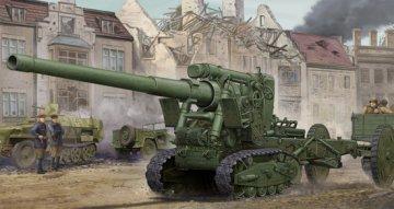 Soviet Br-2 152mm Gun M1935 · TRU 02338 ·  Trumpeter · 1:35