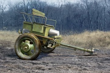 Soviet Limber 52-R-353M Mod.1942 · TRU 02345 ·  Trumpeter · 1:35