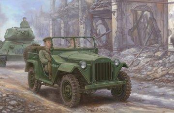 Soviet GAZ-67B Military Vehicles · TRU 02346 ·  Trumpeter · 1:35