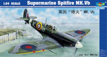 Supermarine Spitfire Mk. Vb · TRU 02403 ·  Trumpeter · 1:24