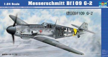 Messerschmitt Bf 109 G-2 · TRU 02406 ·  Trumpeter · 1:24