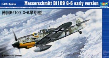 Messerschmitt Bf 109 G-6 frühe Version · TRU 02407 ·  Trumpeter · 1:24