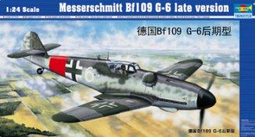 Messerschmitt Bf 109 G-6 späte Version · TRU 02408 ·  Trumpeter · 1:24
