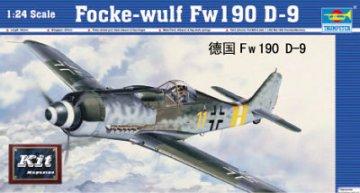 Focke-Wulf Fw 190 D-9 · TRU 02411 ·  Trumpeter · 1:24