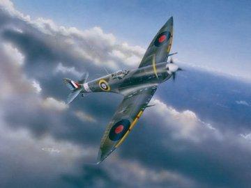 Supermarine Spitfire Mk. VI · TRU 02413 ·  Trumpeter · 1:24