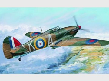 Hurricane Mk. I · TRU 02414 ·  Trumpeter · 1:24