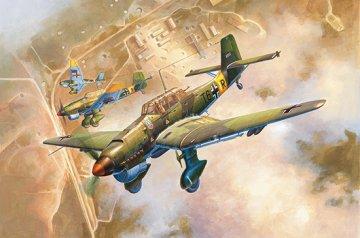 Junkers Ju-87 B-2 Stuka · TRU 02421 ·  Trumpeter · 1:24