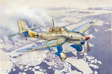 Junkers Ju-87 B-2/U4 Stuka · TRU 02422 ·  Trumpeter · 1:24