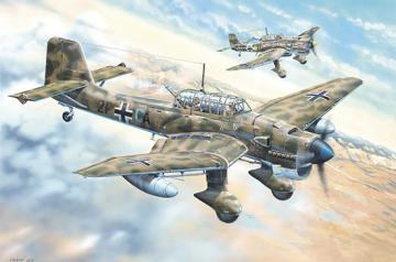 Junkers Ju-87R Stuka · TRU 02423 ·  Trumpeter · 1:24
