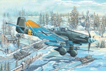 Junkers Ju-87 G-2 Stuka · TRU 02425 ·  Trumpeter · 1:24