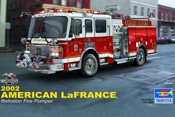 American LaFrance Eagle Fire Pumper 2002 · TRU 02506 ·  Trumpeter · 1:25