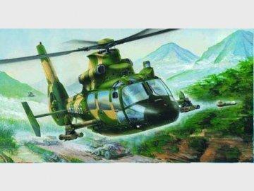 Z-9 G Bewaffneter Helicopter · TRU 02802 ·  Trumpeter · 1:48
