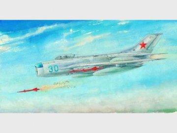 MiG-19 PM Farmer E · TRU 02804 ·  Trumpeter · 1:48
