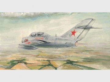 MiG-15 UTI Midget · TRU 02805 ·  Trumpeter · 1:48