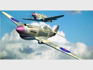 Curtiss P-40 B Warhawk · TRU 02807 ·  Trumpeter · 1:48