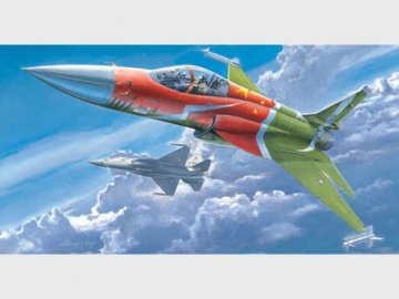 PLAAF FC-1 Fierce Dragon (Pakistani JF-17 Thunder) · TRU 02815 ·  Trumpeter · 1:48