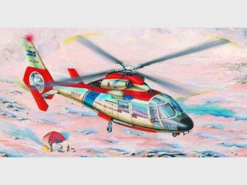 Eurocopter SA 365 N Dauphin 2 · TRU 02816 ·  Trumpeter · 1:48