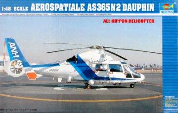 Helicopter-Japanese AS365N2 Dauphin · TRU 02819 ·  Trumpeter · 1:48