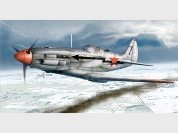 Soviet MiG-3 Late Version · TRU 02831 ·  Trumpeter · 1:48