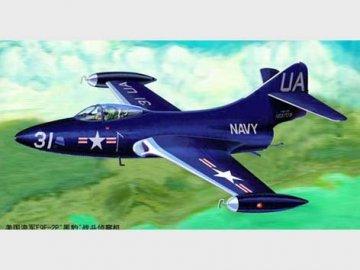 F9F-2P ´´Phanter´´ US Navy · TRU 02833 ·  Trumpeter · 1:48