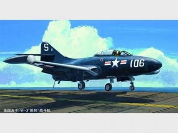 US Navy F9F-3 ´Panther´ · TRU 02834 ·  Trumpeter · 1:48